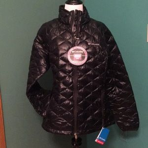 NWT Columbia White Pine quilted puffer Jacket